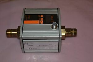 Ifm Electronic Su7001 Ultrasonic Volumetric Flow Sensor