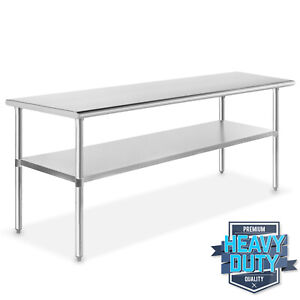 Stainless Steel 24 X 72 Nsf Commercial Kitchen Work Food Prep Table
