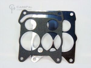 Metal Paper Base Gasket Set Rochester Quadrajet Carburetor 4 Bbl 1965 69 Gm
