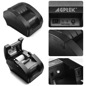 Bluetooth Wireless Pocket Mobile Thermal Receipt Printer For Android Ios