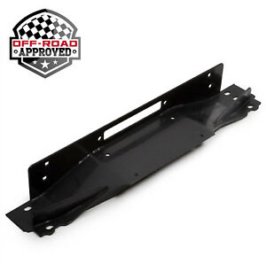 Winch Mounting Plate Mount Bracket For 1987 2006 Jeep Wrangler