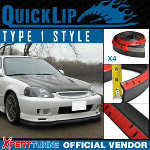 Type 1 Quick Lip For Honda Acura All Sides Combo X4 Ez 100in