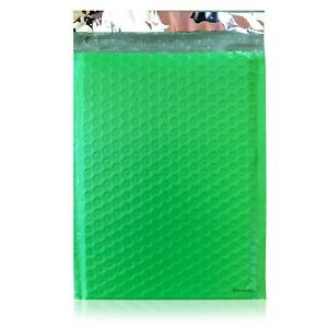 500 0 Green Poly Bubble Mailers Envelopes Bags 6x10 Extra Wide Cd Dvd 6x9