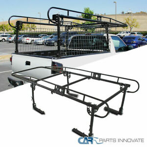 1000 Lb Adjustable Full Size Bed Truck Ladder Rack Pick Up Lumber Kayak Utility
