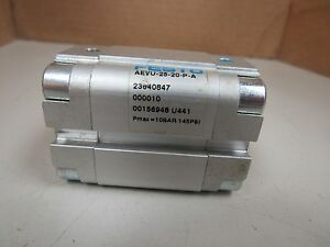 New Festo Air Pnuematic Cylinder Aevu 25 20 p a Aevu2520pa 20mm Stroke