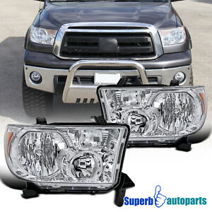 For 2007 2013 Toyota Tundra 2008 2017 Sequoia 12 14 Replacement Headlights Lh Rh
