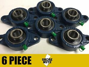 6 Pieces 1 2 Bolt Flange Bearing Ucfl205 16 Ucfl205