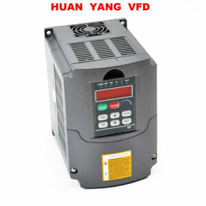 110v Variable Frequency Drive Inverter Converter Vfd 1 5kw Updated 5 48 400hz