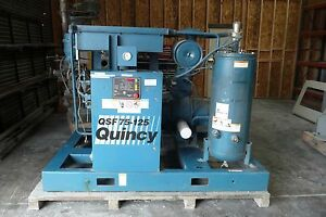 Quincy Qsf 75 125 Air Compressor