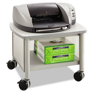 Impromptu Under Table Printer Stand 20 1 2w X 16 1 2d X 14 1 2h Gray