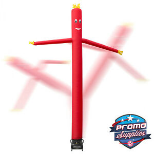 20 Inflatable Dancer Tube Dancing Guy Blower Fan Red