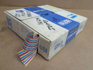 Alpha Wiring Corp 3583 34 Multi Color Flat Cable