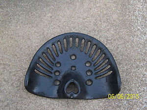 Antique Tractor Seat Equi pment Seat planter mowing Machine Plow disc