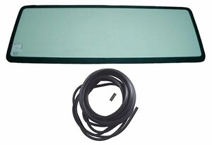 New Tinted Windshield Glass With 3 Pcs Seal Kit For Jeep Wrangler Yj 1987 1995