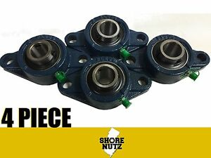 4 Pieces 1 1 2 2 Bolt Flange Bearing Ucfl208 24 Ucfl208
