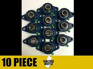 10 Pieces 1 5 8 2 Bolt Flange Bearing Ucfl209 26 Ucfl209