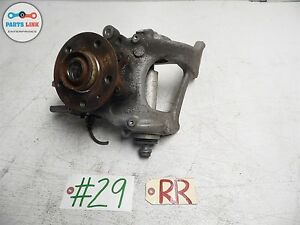 2010 2013 Audi S4 B8 S line Hub Rear Right Spindle Knuckle Wheel A4 Quattro Awd