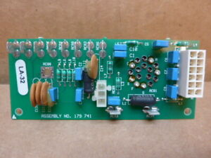 Miller Equipment Circuit Board 179 741 Used 28029