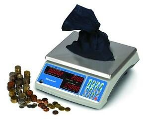 Salter Brecknell B140 60 Counting Coin Scale 60 X 0 002 Lb Brand New