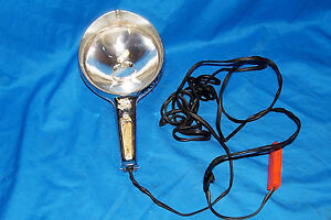 Vintage Ge Car Boat Spotlight Spot Light Old Emergency Auto 12v General Electric