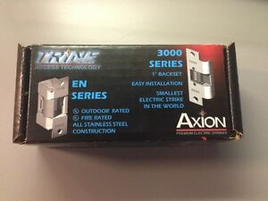 Trine 30rs Axion Premium Cylindrical Lock Electric Strike body Only Door Lock