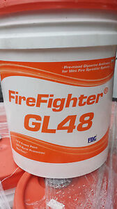 Noble Firefighter Gl Gl48 Glycerine Antifreeze Fire Sprinkler System 170 Gals