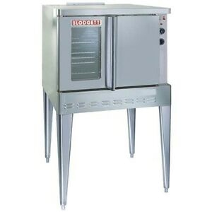 New Full size Gas Convention Oven model Sho 100 g