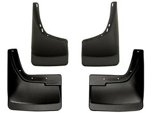 Husky Liners Mud Flap Guards 94 02 Dodge Ram 2500 3500 Dually Front Rear