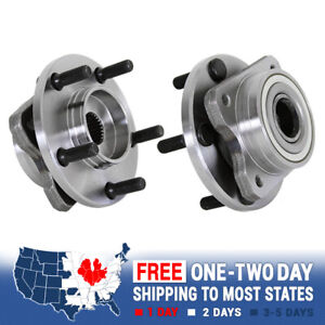 2 New Front Wheel Hub Bearing Assembly Grand Caravan Town Country Voyager