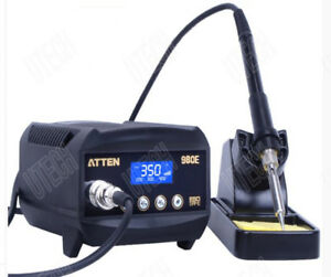 Atten At980e Lcd Digital Dispaly 80w 150c 450c 302f 842f Soldering Iron Station