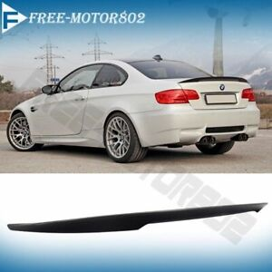 For 07 13 Bmw E92 Coupe 328i 335i M3 P Style High Kick Trunk Spoiler Wing