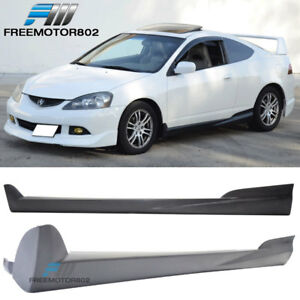 For 02 06 Acura Rsx Dc5 2dr Mugen Style Side Skirts Urethane