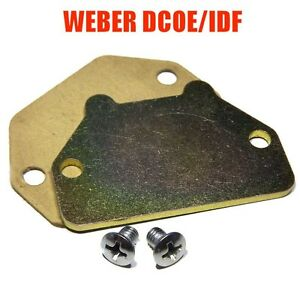 Cold Start Choke Cover Set For Weber 40 45 Dcoe Dcom 40 44 48 Idf Dcnf Empi