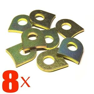 8x Air Horn Tabs For Weber 45 Dcoe Dellorto Ram Pipe Trumpet Clamp 52150 004