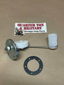 Jeep Willys Cj2a Cj3a Fuel Sending Unit 6 12 Volt Fits Correctly And Easily