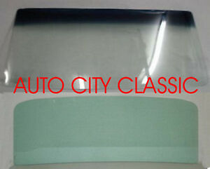 Windshield And Back Glass Chevelle Gto Cutlass Skylark Hardtop 1966 1967 Green
