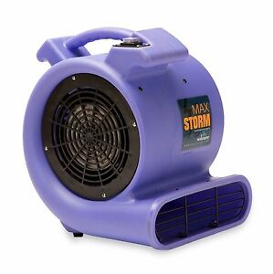 Soleaire Max Storm 1 2 Hp Air Mover Carpet Dryer Blower Floor Fan Purple