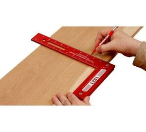 Woodpeckers Tools 1281r Precision Woodworking Square 12 X 8