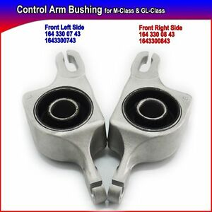 New Control Arms Bushings Suspension Lower Lh Rh For Mercedes W164 Gl Ml Set 2