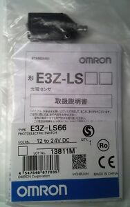 Omron E3z ls66 Photoelectric Switch 4 pin 12 To 24 V Dc New