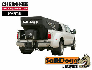 Saltdogg buyers Products Shpe2500 Bulk Salt 50 50 Salt sand Mix Spreader Black
