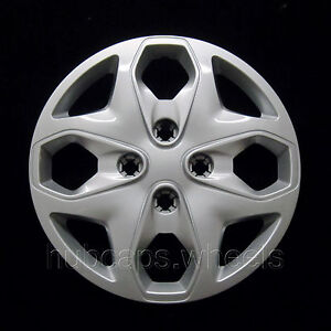 Ford Fiesta 2011 2013 Hubcap Premium Replacement 15 Inch Wheel Cover Silver