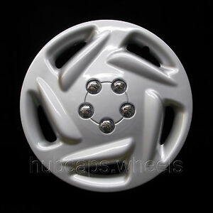 Dodge Caravan 1996 2000 Hubcap Premium Replacement 15 Inch Wheel Cover Silver