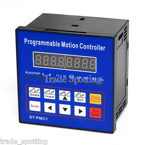 1 Single Axis Cnc Servo Stepper Motor Motion Programmable Controller St pmc1