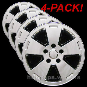 Chevrolet Impala And Monte Carlo 2006 2012 Chrome Wheel Skins New Set Of 4