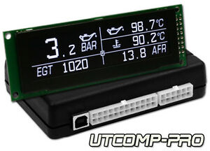 Utcomp pro Turbo Boost Oil Pressure Temperature Egt Afr Gauge Meter
