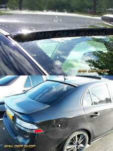 2002 2013 Unpainted Saab 93 Sedan K Style Window Roof Spoiler Wing