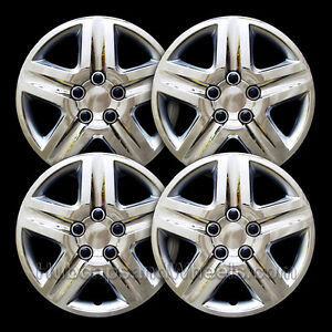 Chevy Impala And Monte Carlo 2006 2010 Premium Chrome Hubcaps New Set Of 4