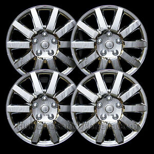 Universal Chrome 16 quot Hubcap All Years Set Of 4 8025