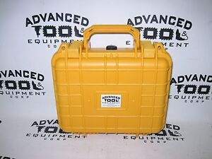 Yellow 10 5 Weatherproof Equipment Case Trimble Geoexplorer 2008 Geo Xt Xh Xm